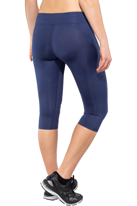 924770f64849 asics Silver Knee Tights Women Indigo Blue